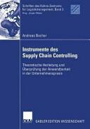 Instrumente Des Supply Chain Controlling (2004)