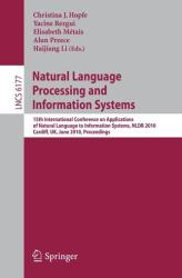 Natural Language Processing and Information Systems (2010)