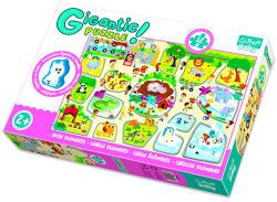 Trefl: giga puzzle - állatkert (ISBN: 5900511907568)