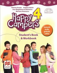 Happy campers. Student Book, Workbook. Clasa a IV-a (ISBN: 9786063327599)