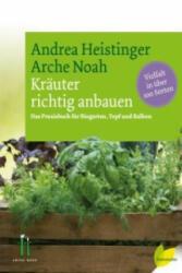 Kräuter richtig anbauen - Andrea Heistinger (ISBN: 9783706625968)