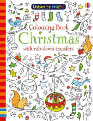 Colouring book Christmas with rub-down transfers (ISBN: 9781474947718)