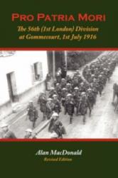 Pro Patria Mori - Alan MacDonald (ISBN: 9780955811913)