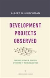 Development Projects Observed (ISBN: 9780815726425)