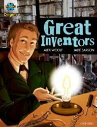 Project X Origins Graphic Texts: Dark Blue Book Band Oxford Level 15: Great Inventors (ISBN: 9780198367512)