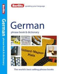 Berlitz német szótár German Phrase Book & Dictionary (2012)