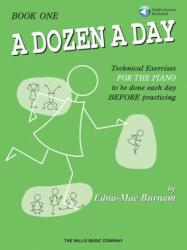 A Dozen a Day Book 1 - Book/CD Pack - Edna Mae Burnam (ISBN: 9781458419750)