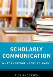 Scholarly Communication (ISBN: 9780190639457)