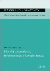 Filosofia trascendental, Fenomenologia y Derecho natural (ISBN: 9783487156910)
