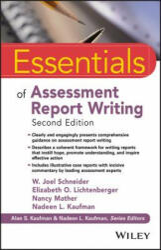 Essentials of Assessment Report Writing (ISBN: 9781119218685)