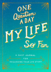 One Question a Day - AIMEE CHASE (ISBN: 9781250304100)