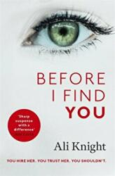 Before I Find You (ISBN: 9781473684768)