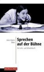 Sprechen auf der Bühne - Hans M. Ritter (1999)