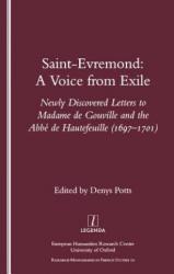 Saint-Evremond - Denys Potts, A. M. de Saint-Evremond (ISBN: 9781900755504)