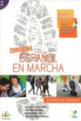 Nuevo Espanol en Marcha Basico : Exercises Book + CD - Castro Viudez Francisca (2014)