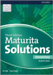 Maturita Solutions 3rd Edition Elementary Student's Book - Tim Falla, Davies Paul A (2017)