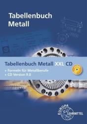 Tabellenbuch Metall XXL CD (2017)