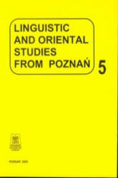 Linguistic and oriental studies from Poznan vol. 5 - Alfred Majewicz (2003)