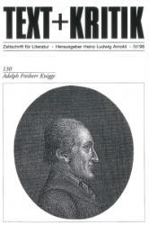 Adolph Freiherr Knigge - Heinz Ludwig Arnold, Adolph von Knigge (1996)