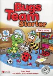 Bugs Team Starter Karty pracy - Carol Read, Ana Soberon, Anna Parr-Modrzejewska (2017)