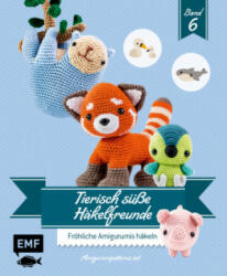 Tierisch süße Häkelfreunde 6 - Amigurumipatterns. Net (2018)