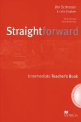 Straightforward. Intermediate. Teacher's Book with 2 Audio-CDs - Jim Scrivener, Celia Bingham, Adrian Tennant, Steve Wasserman (2010)