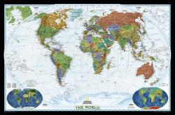 World Decorator, Laminated: Wall Map (2010)