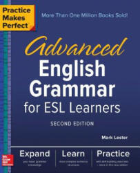 Practice Makes Perfect: Advanced English Grammar for ESL Learners, Second Edition (ISBN: 9781260010862)