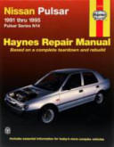 Nissan Pulsar Australian Automotive Repair Manual (ISBN: 9781563922725)