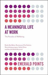 Meaningful Life at Work - The Paradox of Wellbeing (ISBN: 9781787567702)
