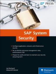 SAP System Security Guide (ISBN: 9781493214815)