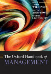 Oxford Handbook of Management - Adrian Wilkinson (ISBN: 9780198828006)