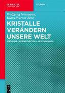 Kristalle Ver (ISBN: 9783110438895)