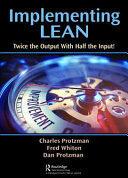Implementing Lean (ISBN: 9781482252842)