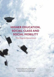 Higher Education, Social Class and Social Mobility: The Degree Generation (ISBN: 9781349710102)