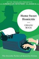 Home Sweet Homicide (ISBN: 9781613161128)