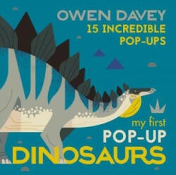 My First Pop-Up Dinosaurs - Owen Davey (ISBN: 9781406381696)