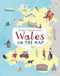 Wales on the Map (ISBN: 9781849670555)