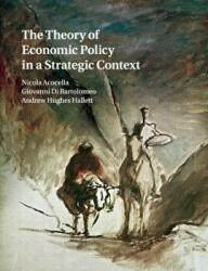 Theory of Economic Policy in a Strategic Context (ISBN: 9781108468824)