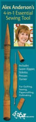 Alex Andersons 4-In-1 Essential Sewing Tool - Includes Seam Ripper, Stiletto, Presser, Turner (ISBN: 9781571207883)