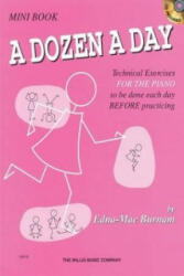 Dozen a Day Mini Book (ISBN: 9781458416124)