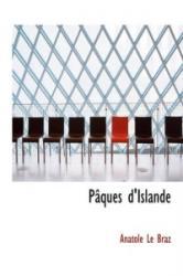 P Ques D'Islande - Anatole Le Braz (ISBN: 9781116733617)