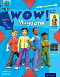 Project X Origins: Grey Book Band, Oxford Level 14: In the News: WOW! Magazine - Alex Lane (ISBN: 9780198303152)