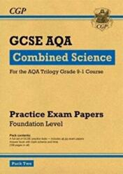 New Grade 9-1 GCSE Combined Science AQA Practice Papers: Foundation Pack 2 (ISBN: 9781782948421)