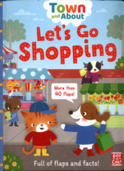Town and About: Let's Go Shopping - Pat-a-Cake, Mandy Archer (ISBN: 9781526380548)