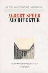 Architektur - Albert Speer, Karl Arndt, Georg Fr. Koch, Lars O. Larsson (ISBN: 9783549054468)