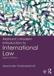 Akehurst's Modern Introduction to International Law (ISBN: 9780415243568)