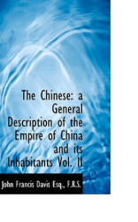 Chinese - Davis, John Francis, Sir (ISBN: 9781115667494)