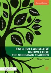 English Language Knowledge for Secondary Teachers (ISBN: 9780415635974)