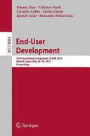 End-User Development - 5th International Symposium, IS-EUD 2015, Madrid, Spain, May 26-29, 2015. Proceedings (ISBN: 9783319184241)
